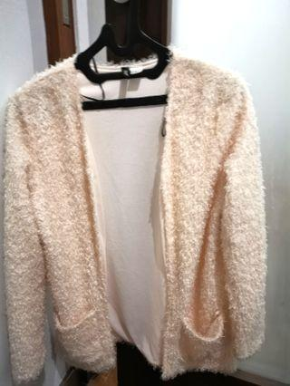 Fur Blazer H&M