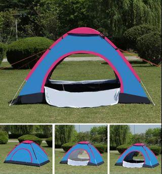 Tents , camping tent, two doors with fence, waterproof