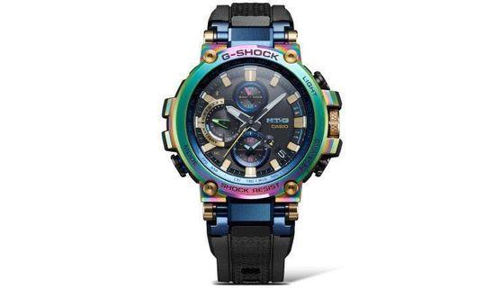 Brand New Original CASIO G-SHOCK Limited Edition Basel World MTG-B1000RB-2ADR MTG-B1000RB MTG Lunar Rainbow
