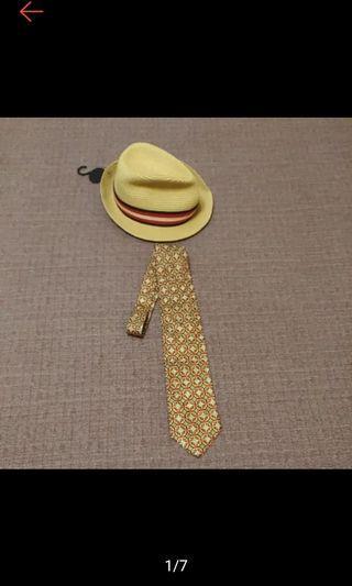 義大利 ITALIAN 宮廷印花 型男必備 絲質領帶 寬版領帶