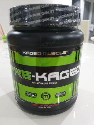 🚚 Kaged Muscle, Pre-Kaged, Pre-Workout Primer, Fruit Punch, 1.41 lbs