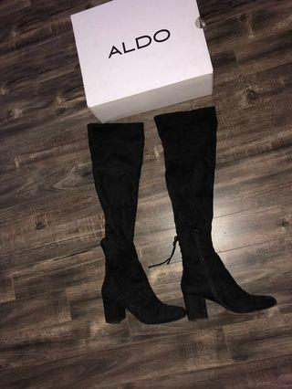 Aldo over the knee Boots 7.5