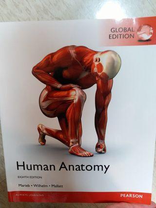 PEARSON 人體解剖學 HUMAN ANATOMY 8th Edition - Marieb