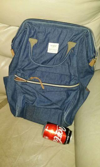 日本 anello 布背包,18 inch * 10 inch * 8 inch, 屯門交收,cloth backpack,  trade in Tuen.Mun