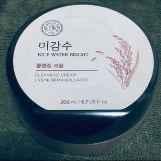 Makeup remover (Rice Water Bright Cleansing Cream)