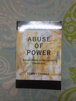 Abuse of Power by Tommy Thomas