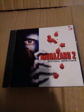 絕對新淨(平售$)+包平郵 (不另再折) Biohazard ost 日版cd (可payme/滙豐/中銀) whatspp 96509051 (屯門區或各區港鐵站面交)
