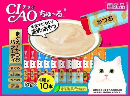 CIAO Chu ru Cat treats