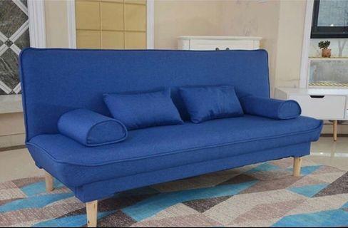 簡約歐陸梳化床送腰枕扶手枕