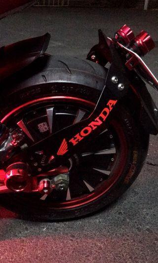 Motor hub 3weeks use. Qs 2000w 72v to 120v