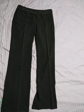 Black  office Pants