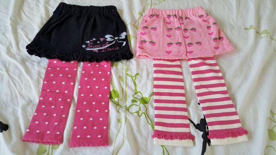 Brand New Girls Skirt Stokings/Leggings