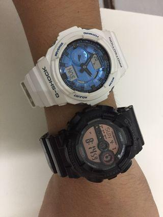 🚚 G Shock Authentic Fast Deal $230 for 2!