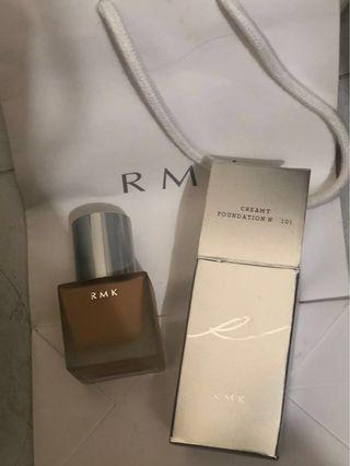 RMK creamy foundation #101