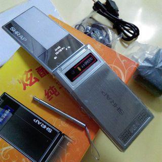 全新SHRAP H500多用途行動電話銀色 適合收藏或當零件機