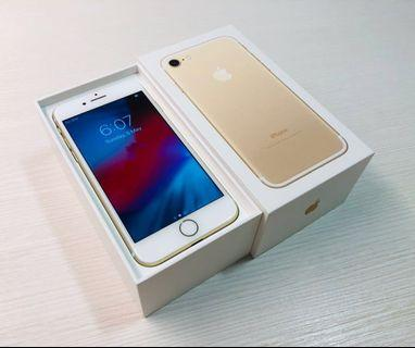 Good condition iPhone 7 Gold 128GB full set