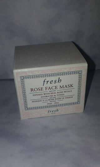 Fresh Rose Face Mask 30ml  包平郵
