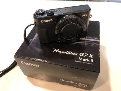 🚚 Canon G7X Mark II