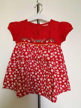🚚 Baby floral dress (9-12months)