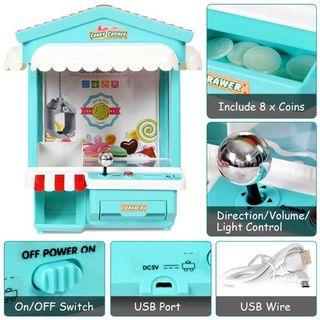 Claw Machine for Kids - Candy Shop Rooftop