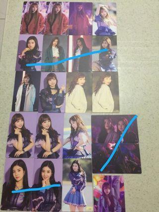 [WTS] IZONE IZ*ONE photocards Eunbi Yena Nako Hitomi Chaewon Yuri