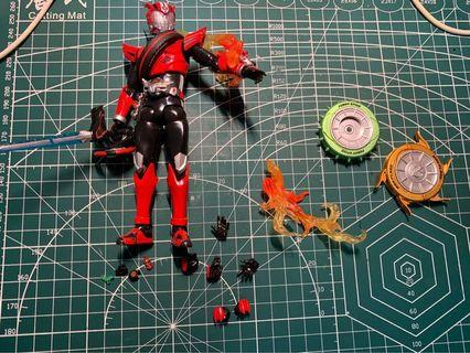 SHF driver 矇面超人平成系列 not mafex not hasbro not hottoys not figma not neca