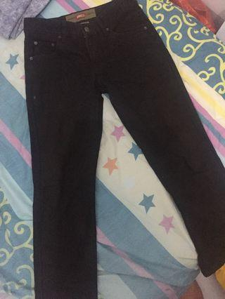 boyfried jeans black