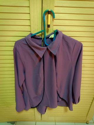 Blouse byFey Purple