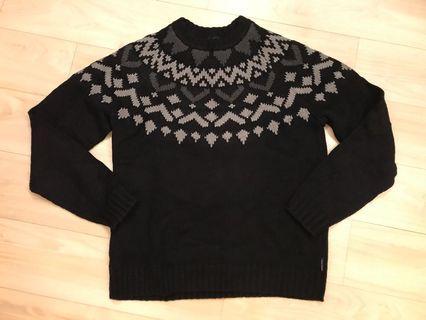 Armani Exchange cotton wool long sweater