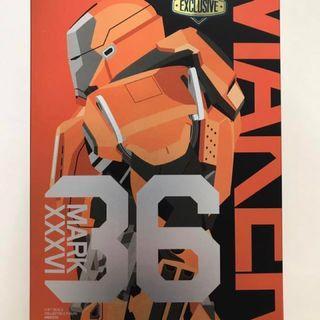 Iron Man 3 Peacemaker Mark XXXVI (36) 2014 Summer Exclusive