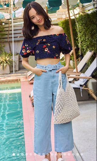 TCL Mellani Denim Culottes