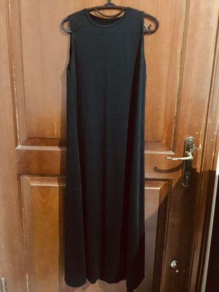 Basic Black Long dress
