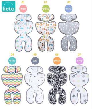 訂購韓國製Lieto baby bb車涼墊