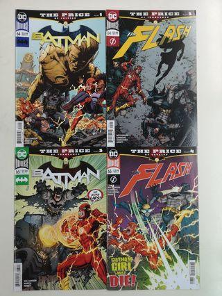 🚚 Batman Flash The Price (2019) Comics Set