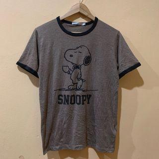 Snoopy Ringer Tshirt