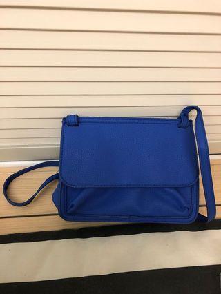 藍色斜揹袋(NEW)
