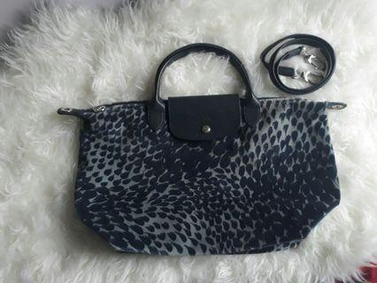 Longchamp velvet authentic