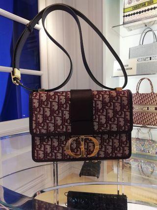 全新Dior Montaigne 30 CDCDCD 紅色真品購自意大利