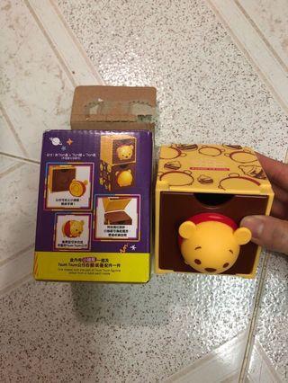 7-11 Winnie the pooh小抽屜