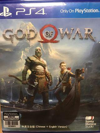 戰神4 God of war PS4中文