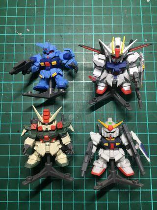 Gundam Senshi Forte • Gashapon SET