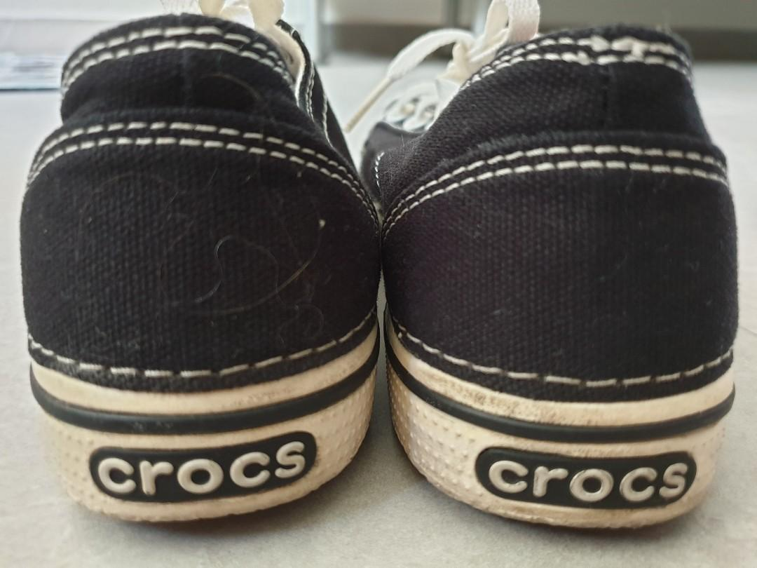 2 pairs of Crocs shoes