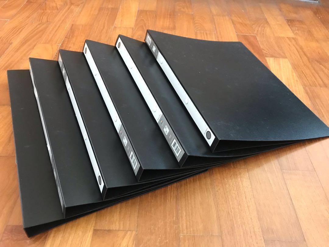 2-Ring PVC File Folder