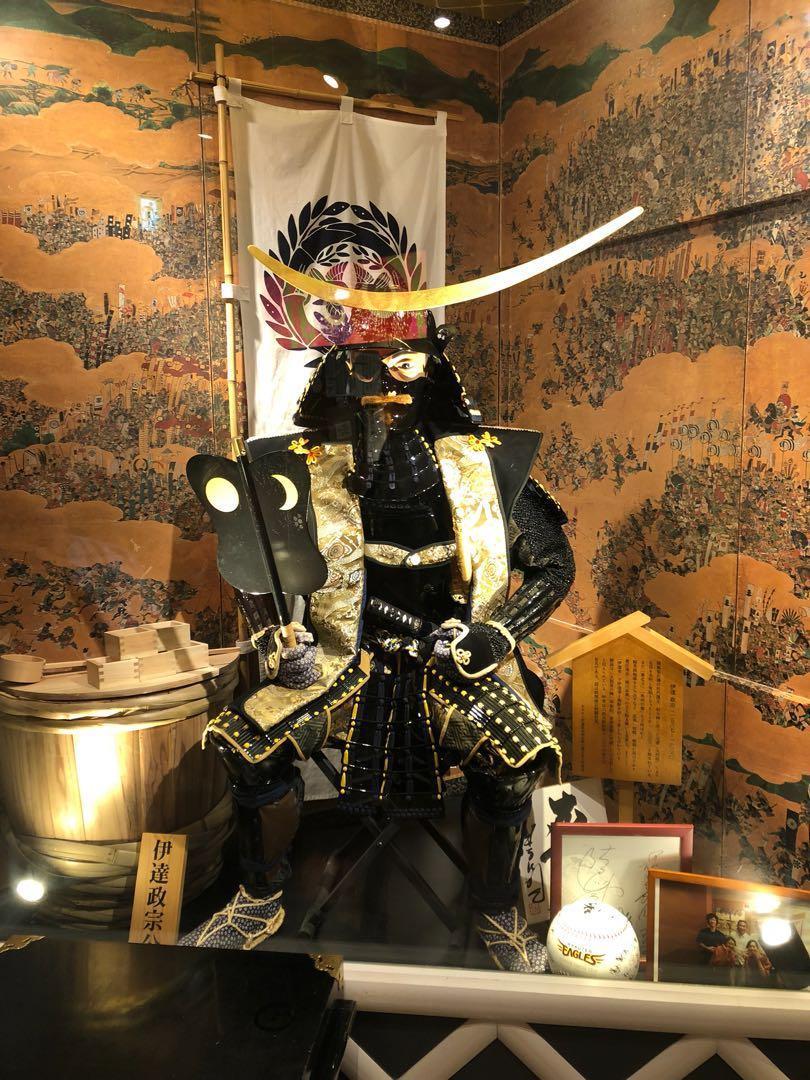 日本武士盔甲