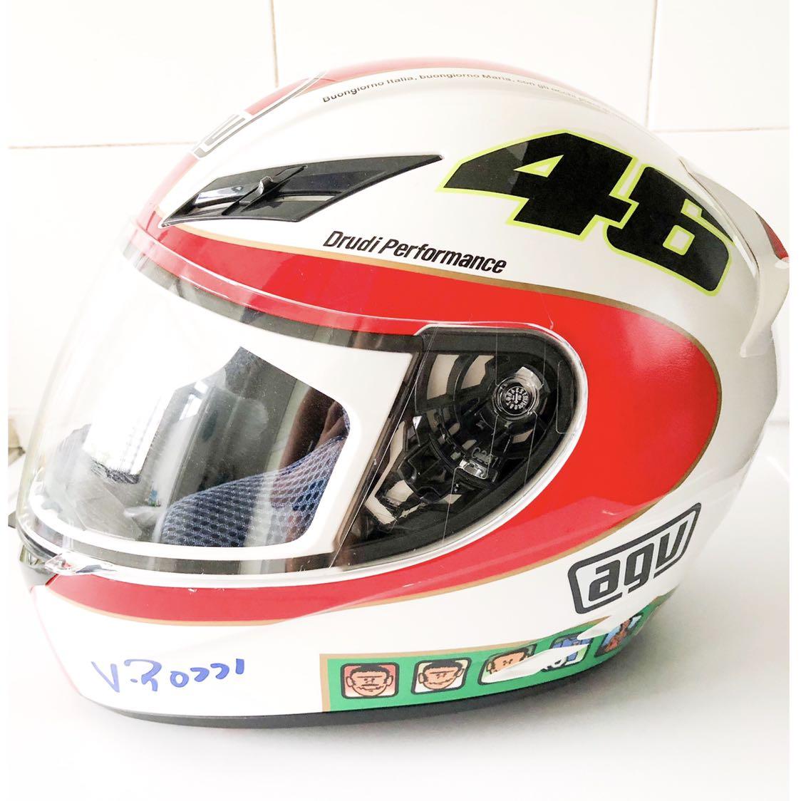 Valentino Rossi Helmet Size