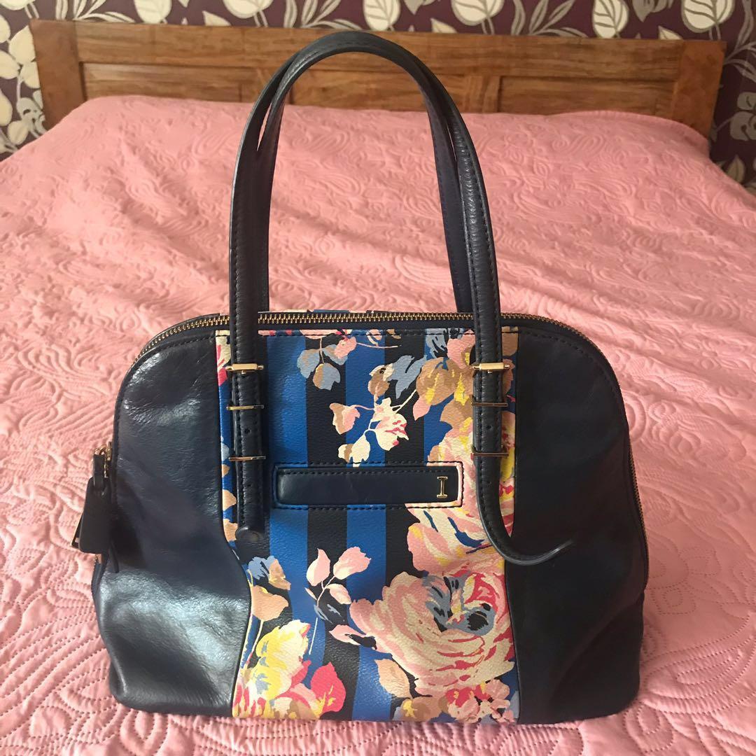 Authentic Isaac Mizrahi Satchel Bag
