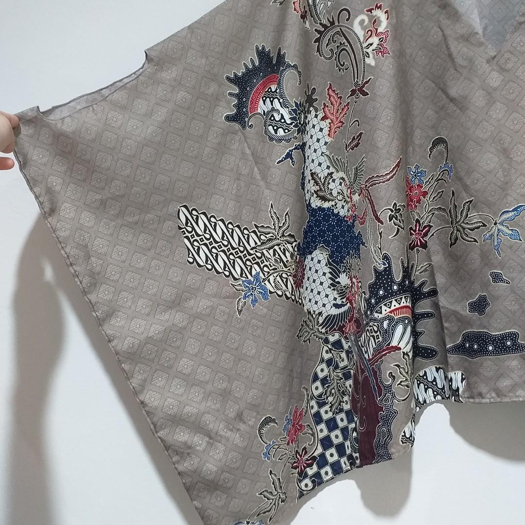 Batwing Batik Blouse