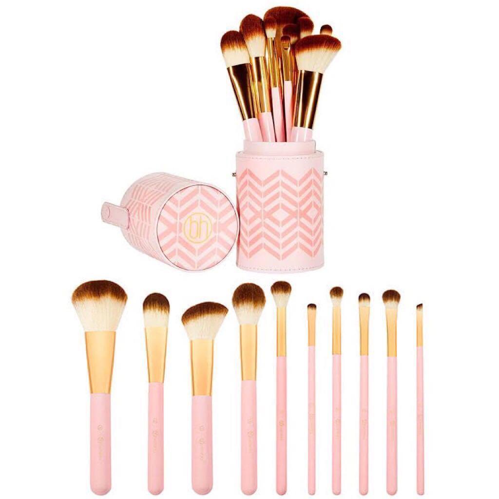 BH Cosmetics Pink Perfection Brush set #RamadanSale