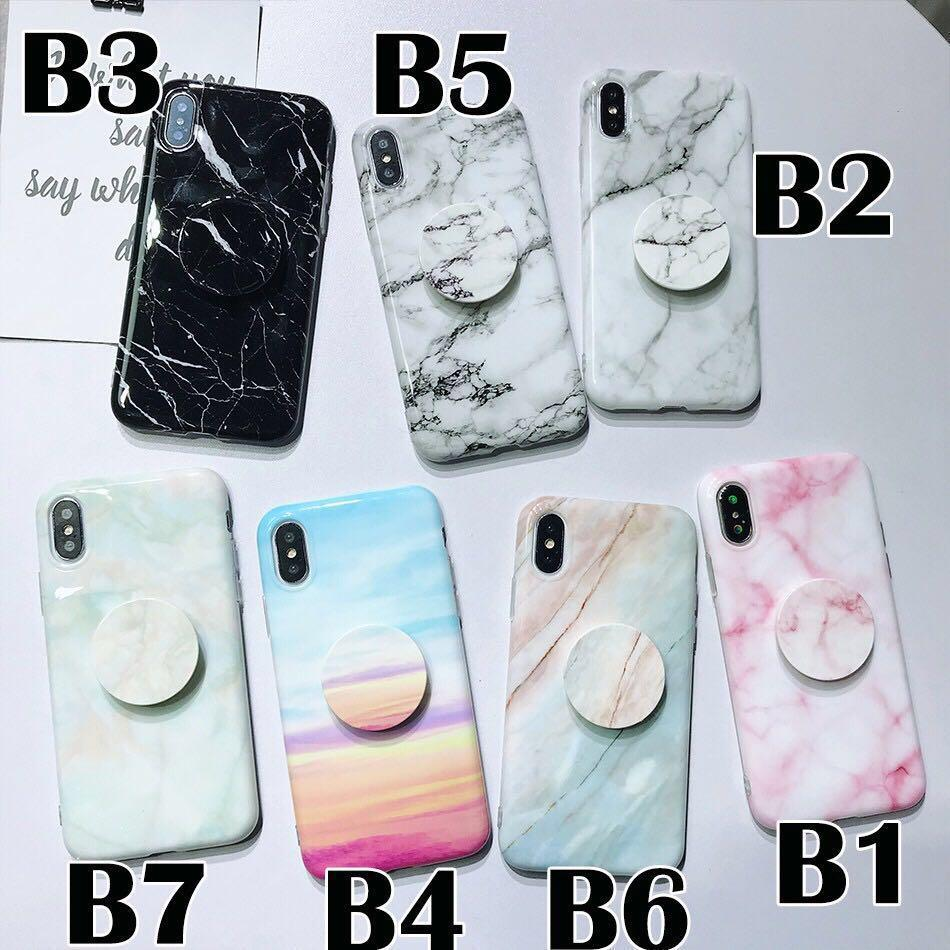 🌟BN INSTOCKS Assorted iPhone X/XS Pretty Marble Phone Cases