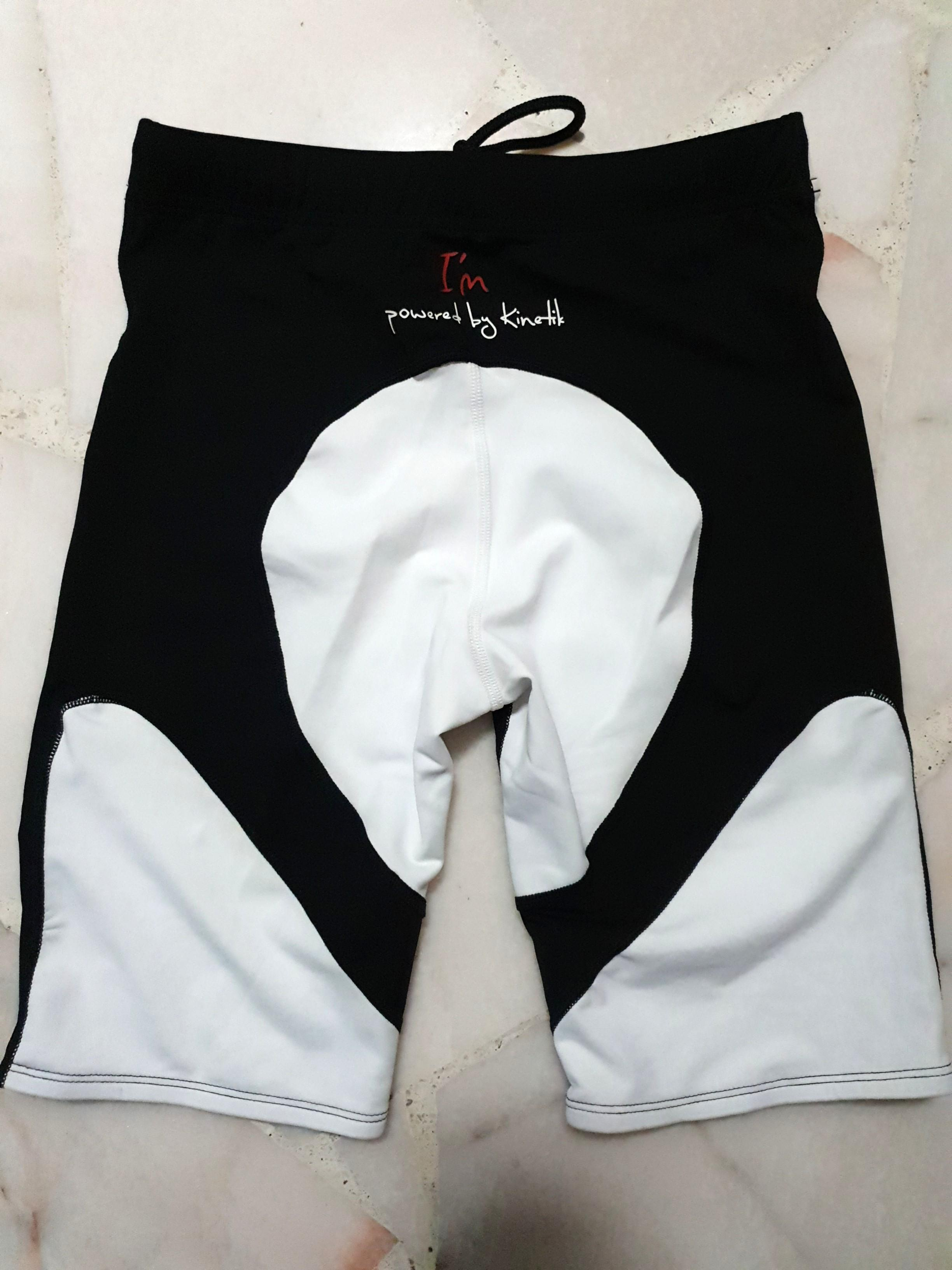 BNWOT Kinetik Compression Tights Shorts Women